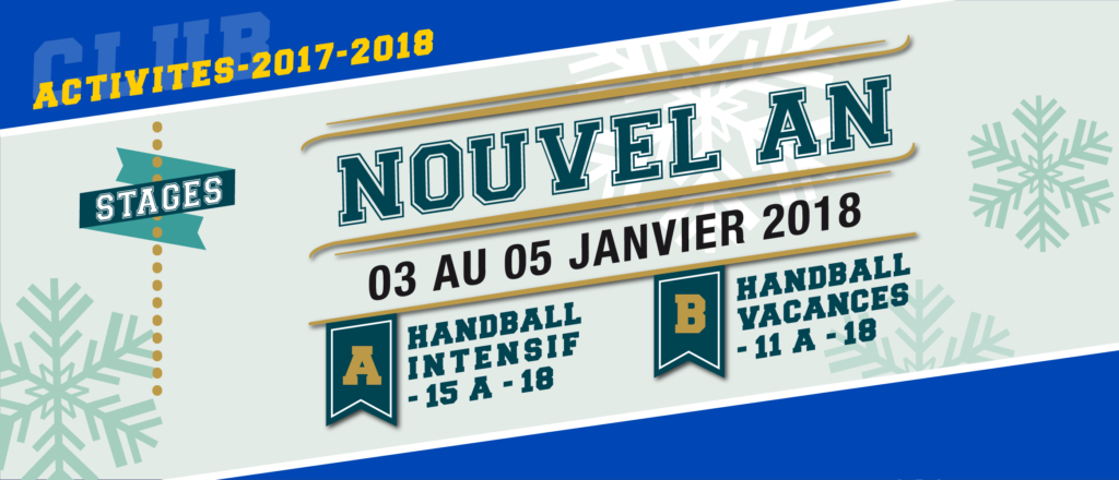 Stages de Handball Nouvel An