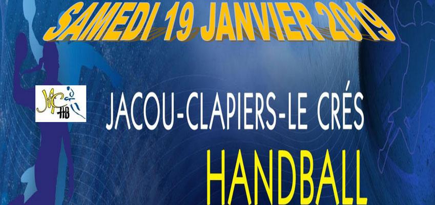 Match Nationale 3 Féminine le 19/01/2019 : JACCHB - Aucamville