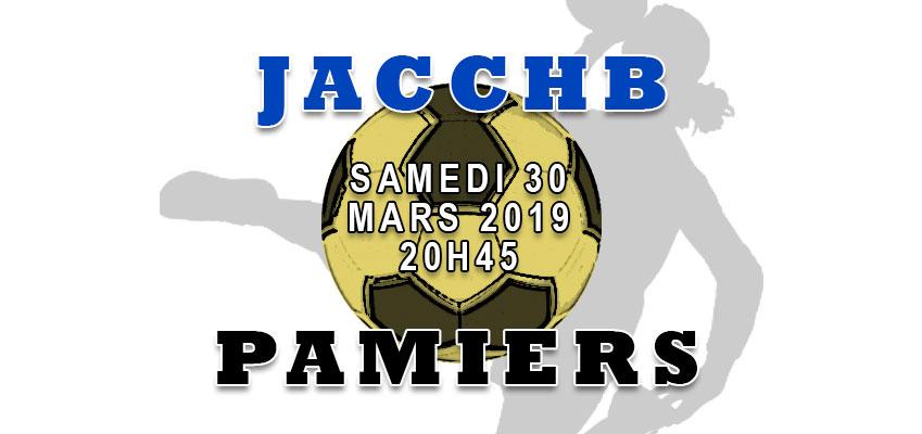 Match Nationale 3 Féminine : JACCHB - Pamiers
