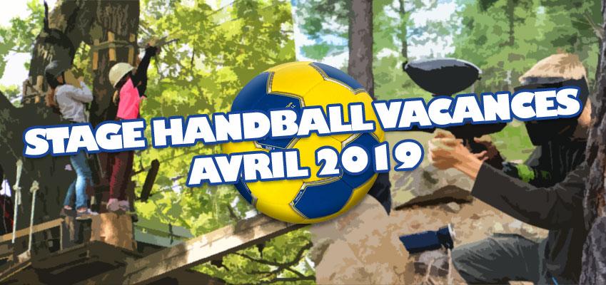 Stage de Handball Vacances d'Avril 2019