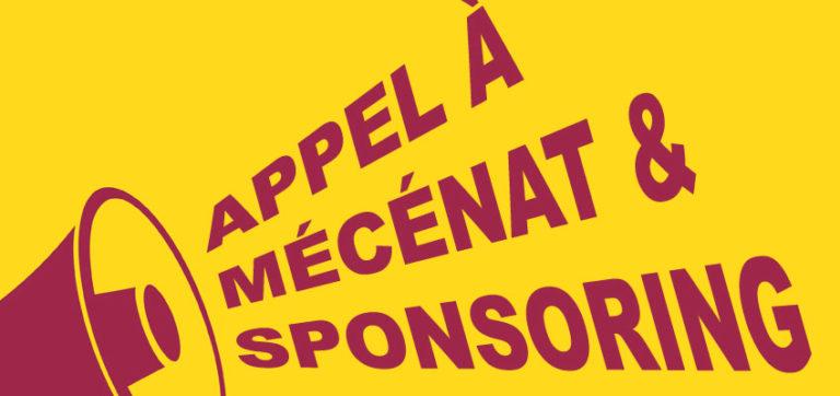 Appel à Mécénat et Sponsoring