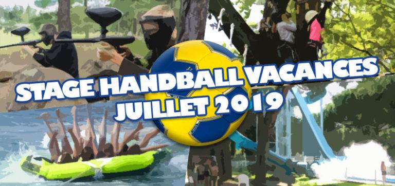 Stage de Handball Vacances d'Été 2019