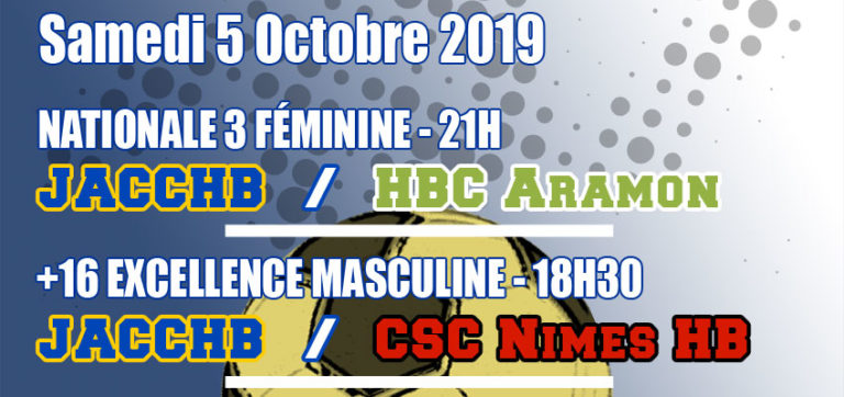 Match Nationale 3 Féminine : JACCHB - HBC Aramon