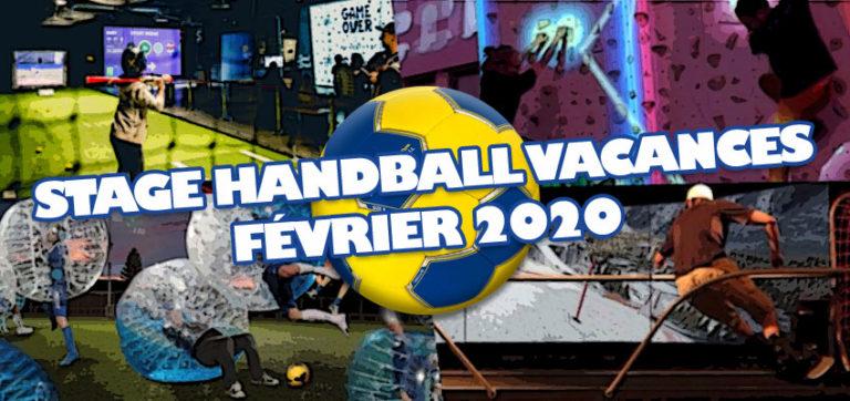 Stage de Handball Vacances de Février 2020