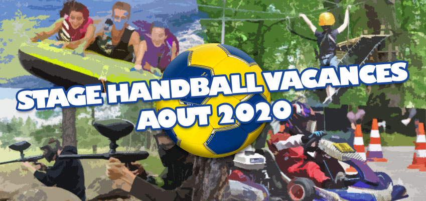 Stage de Handball Vacances d'été Août 2020