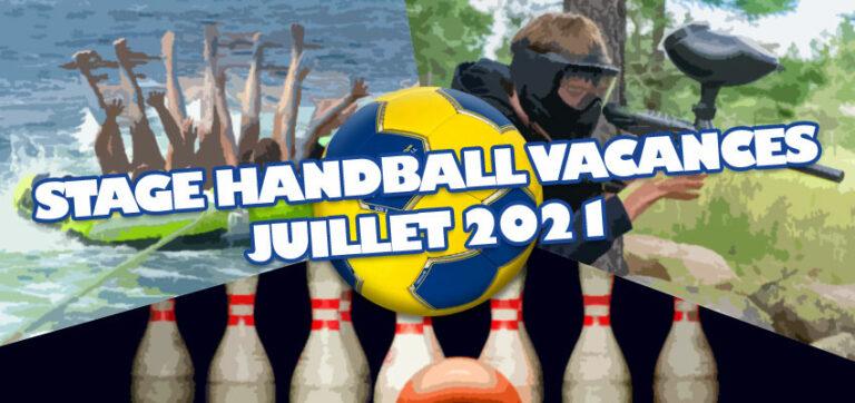 Stage de Handball Vacances d'été Juillet 2021