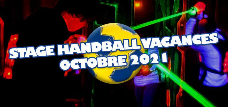 Stage de Handball Vacances d'Octobre 2021